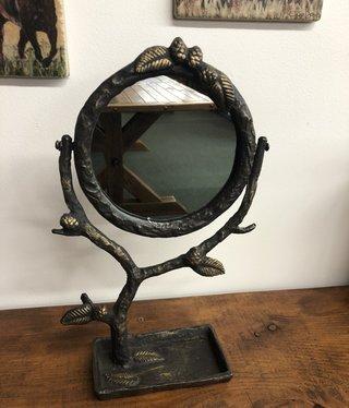 SPI Pinecone Vanity Mirror