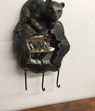 SPI Bear Cub Wall Mirror & Hook