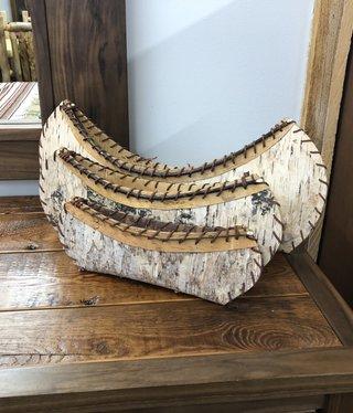 Dalin Enterprises Canoe Set of 3