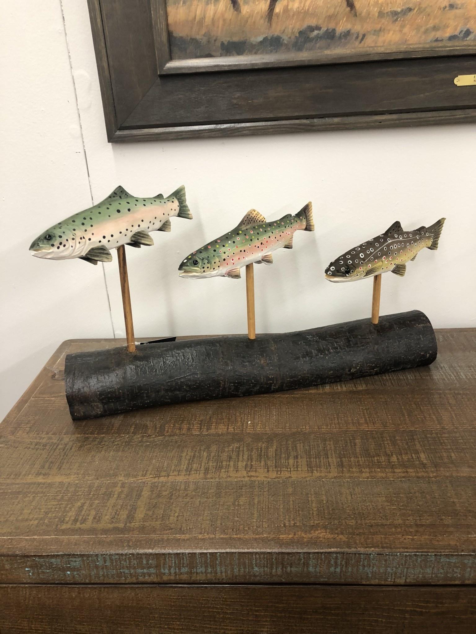 Dalin Enterprises Fish Trio - Medium