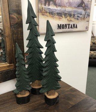 Dalin Enterprises Tabletop Pine Trees  Set of 3