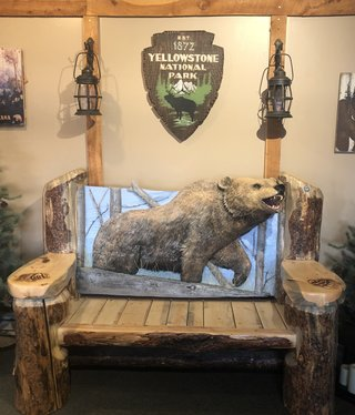 MCE Industries Grizzly Bear Bench