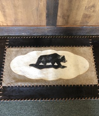 Gaucho Cowhide Bear Rug