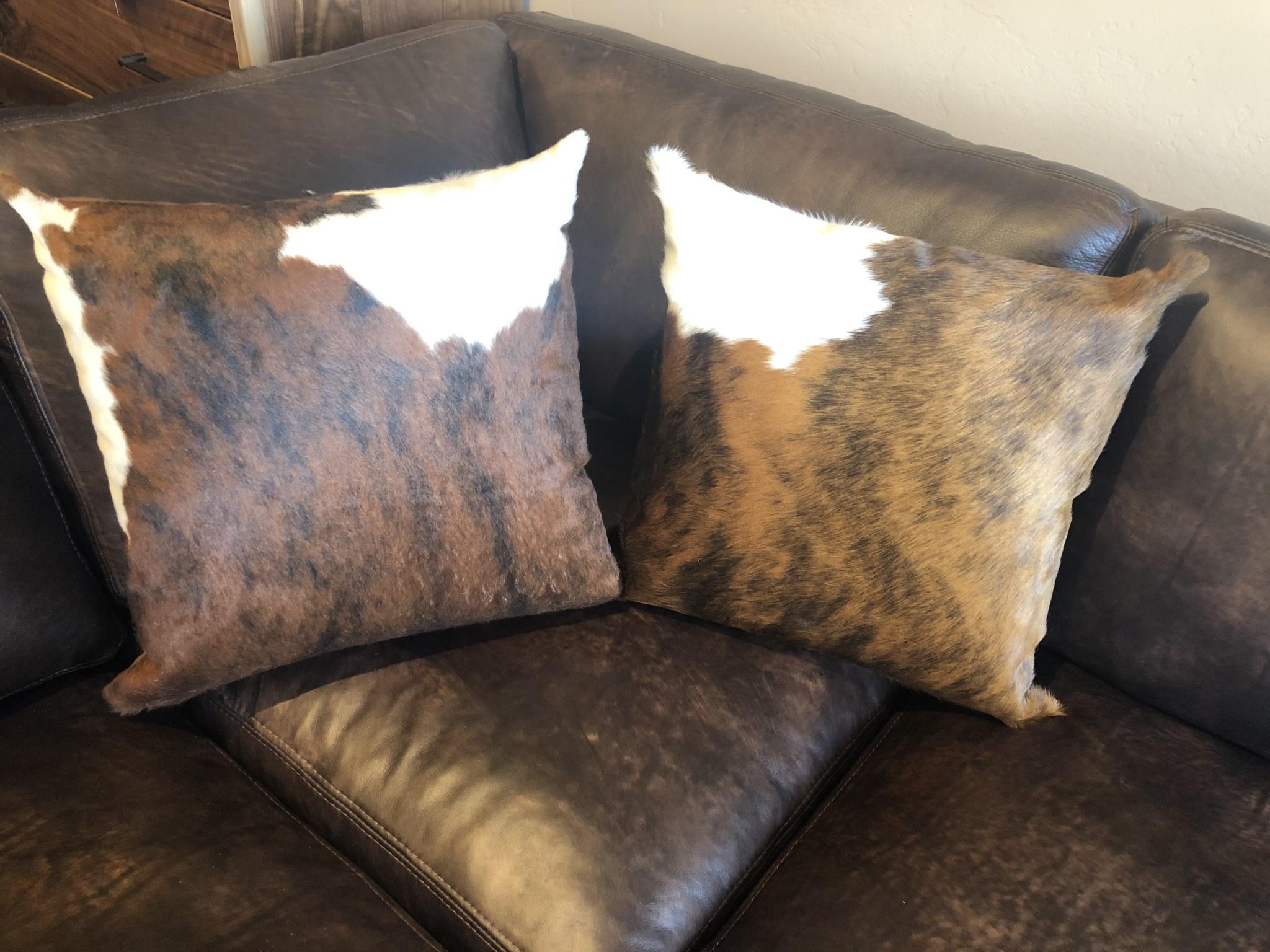 Gaucho Cowhide Pillow 20x20