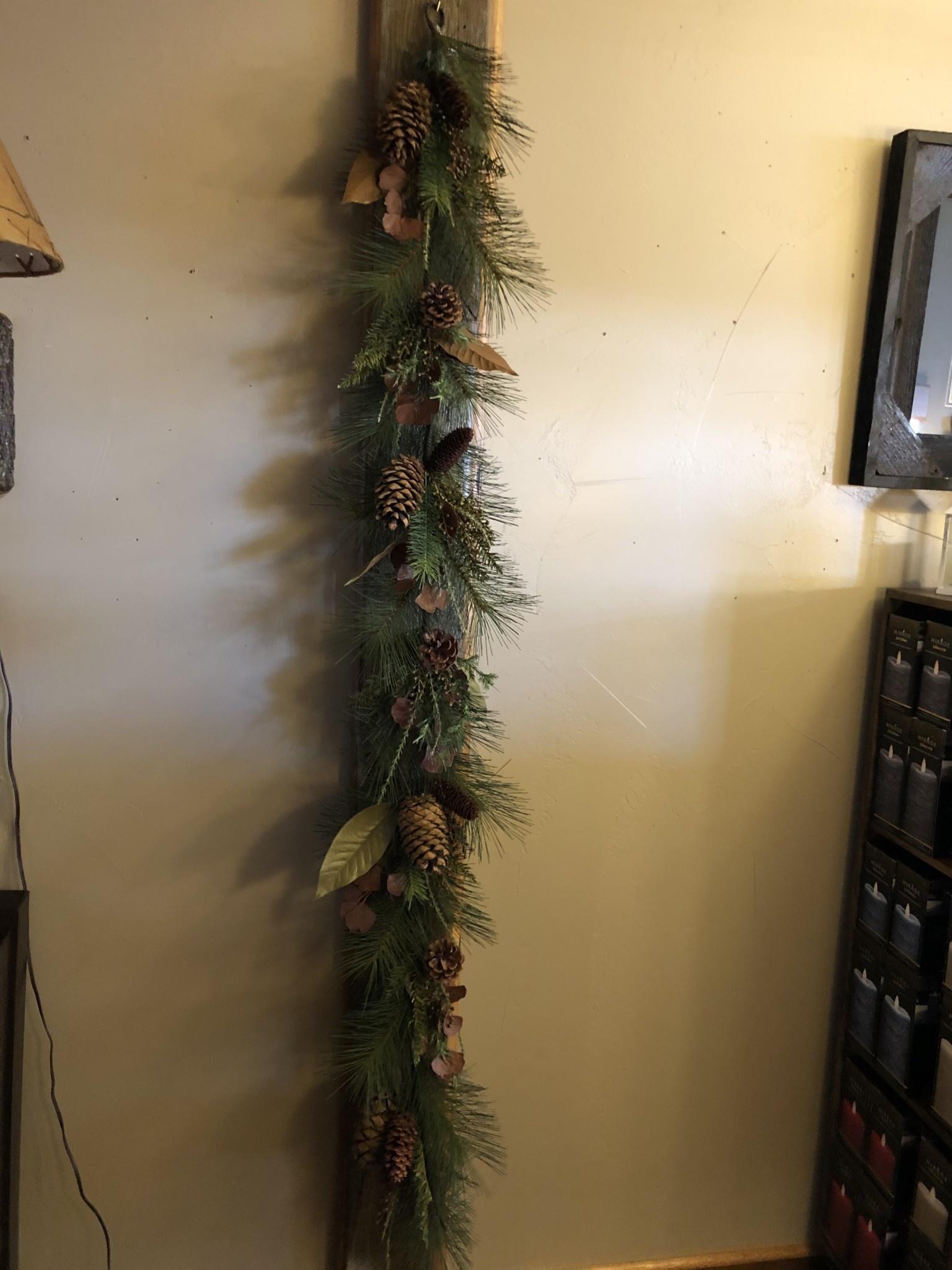 Sullivans Earthy Delight Pine Garland 6' GD1340