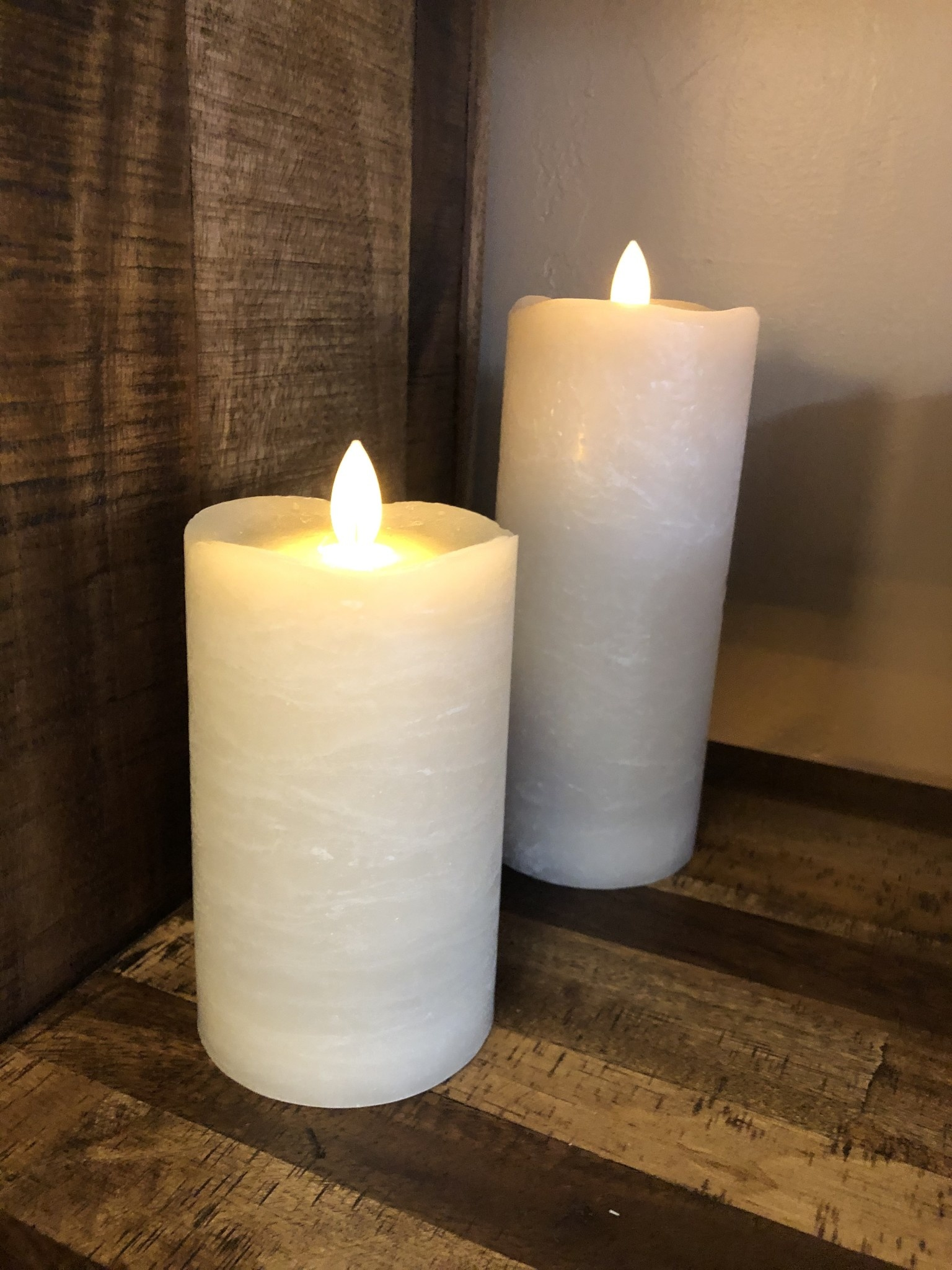 Sullivans Frosted Candle - Warm Sand - 3x5