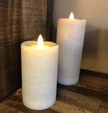 Sullivans Frosted Candle - Warm Sand - 3x7