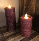 Sullivans Frosted Candle - Pomegranate - 3x7