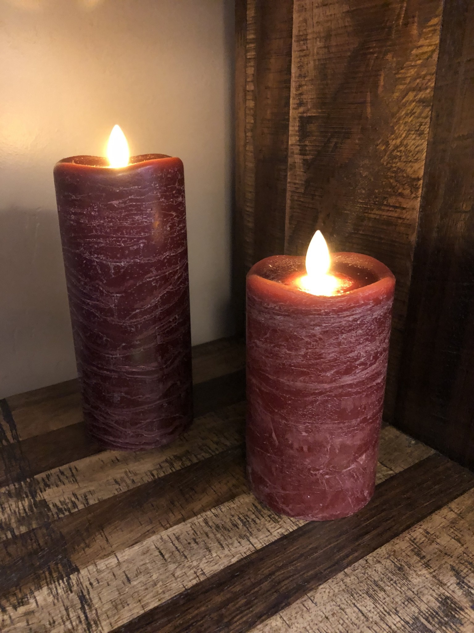 Sullivans Frosted Candle - Pomegranate - 3x5