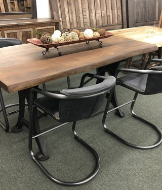 HTD Organic Forge Gathering Table, 36x72x38