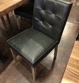 HTD Madison Black Side Dining Chair, 18x20x34.5