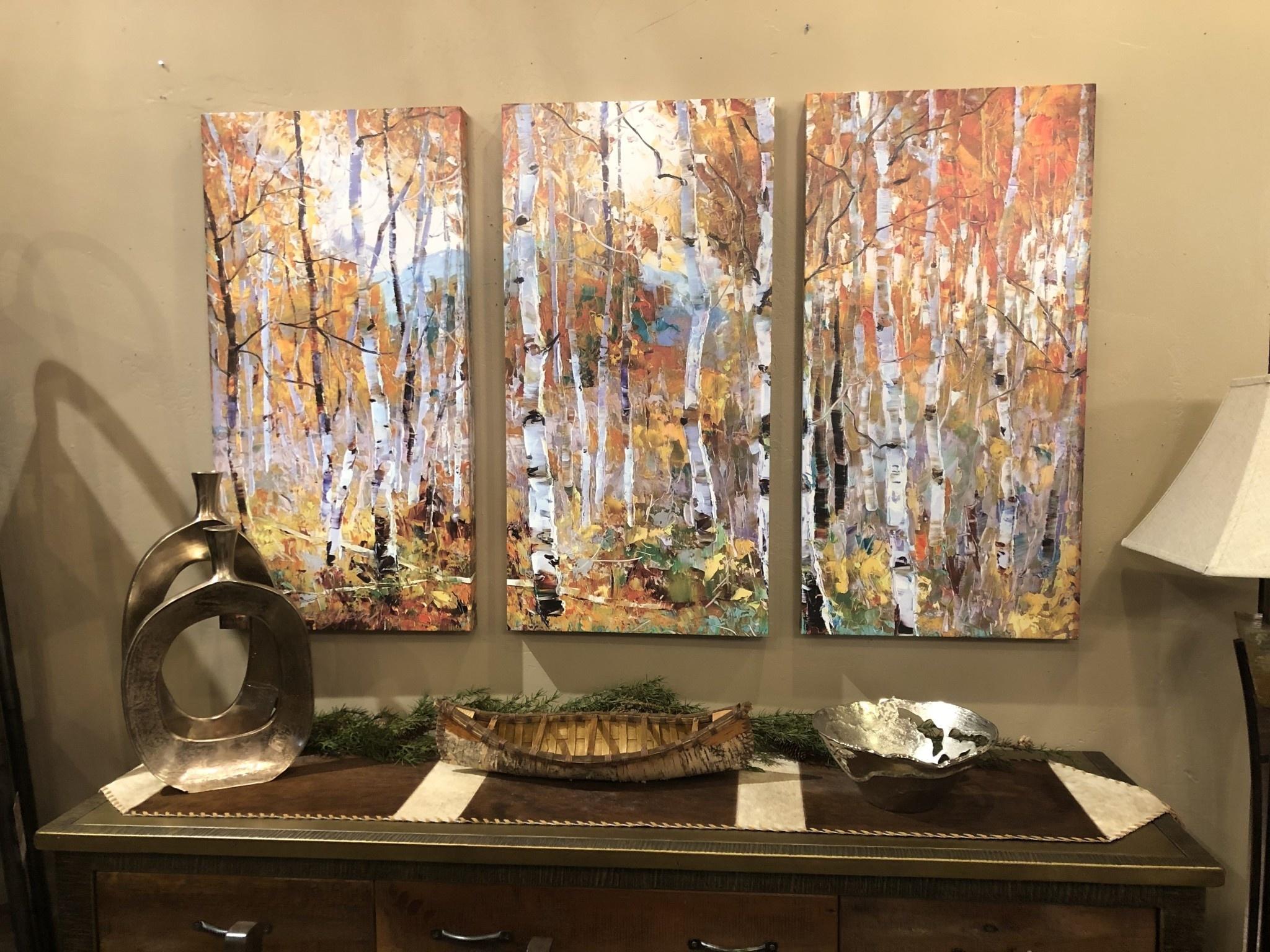 TAC Fall Magic Triptych (Aspens)