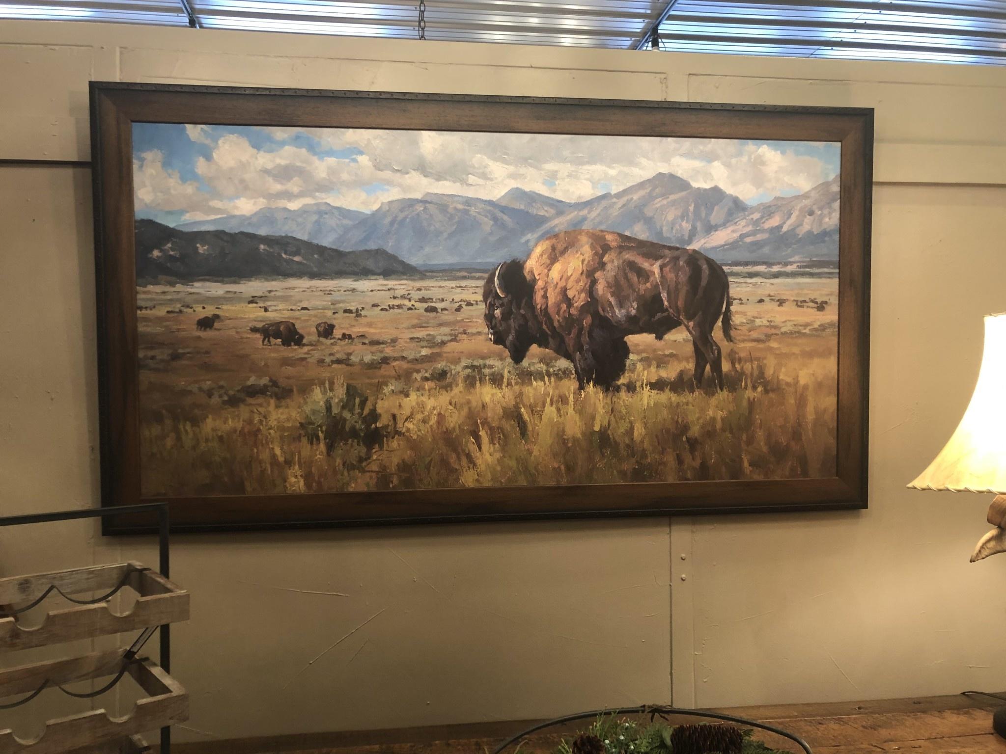 TAC Buffalo  (with Mountains)