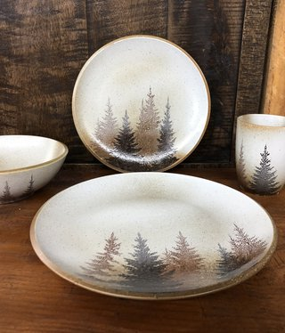 Hiend Clearwater Pines Stoneware Dinner Plate