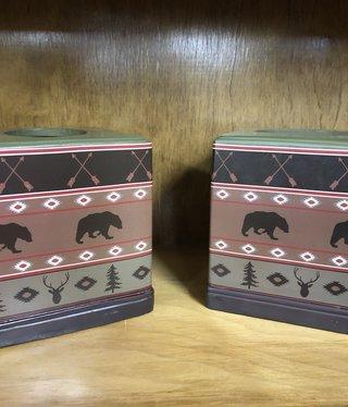 Hiend Aztec Bear Kleenex Box