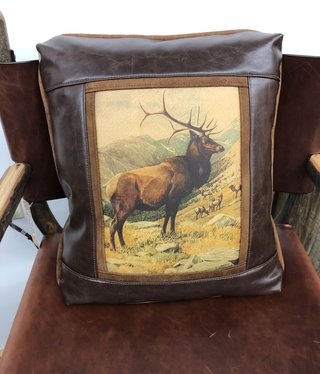 Sweetwater Trading Co Elk Herd Pillow
