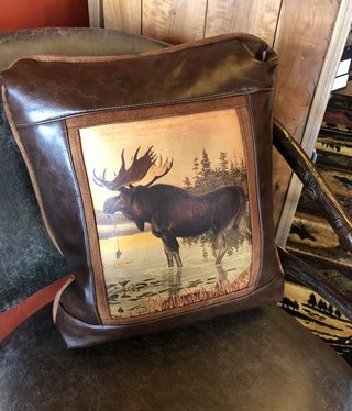 Sweetwater Trading Co Moose Pillow   117CV