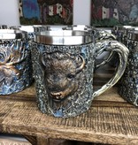 Unison Gifts Wood Like Buffalo Mug