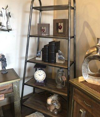 Uttermost Zosar Etagere Bookshelf,  40W x 83H x 20D