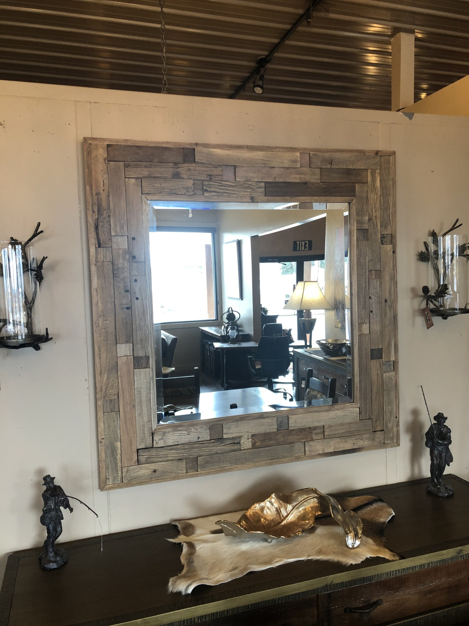 Uttermost Emelin Mirror in Natural