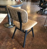 HTD Bomber Jacket Dining Chair 18x16x33.5