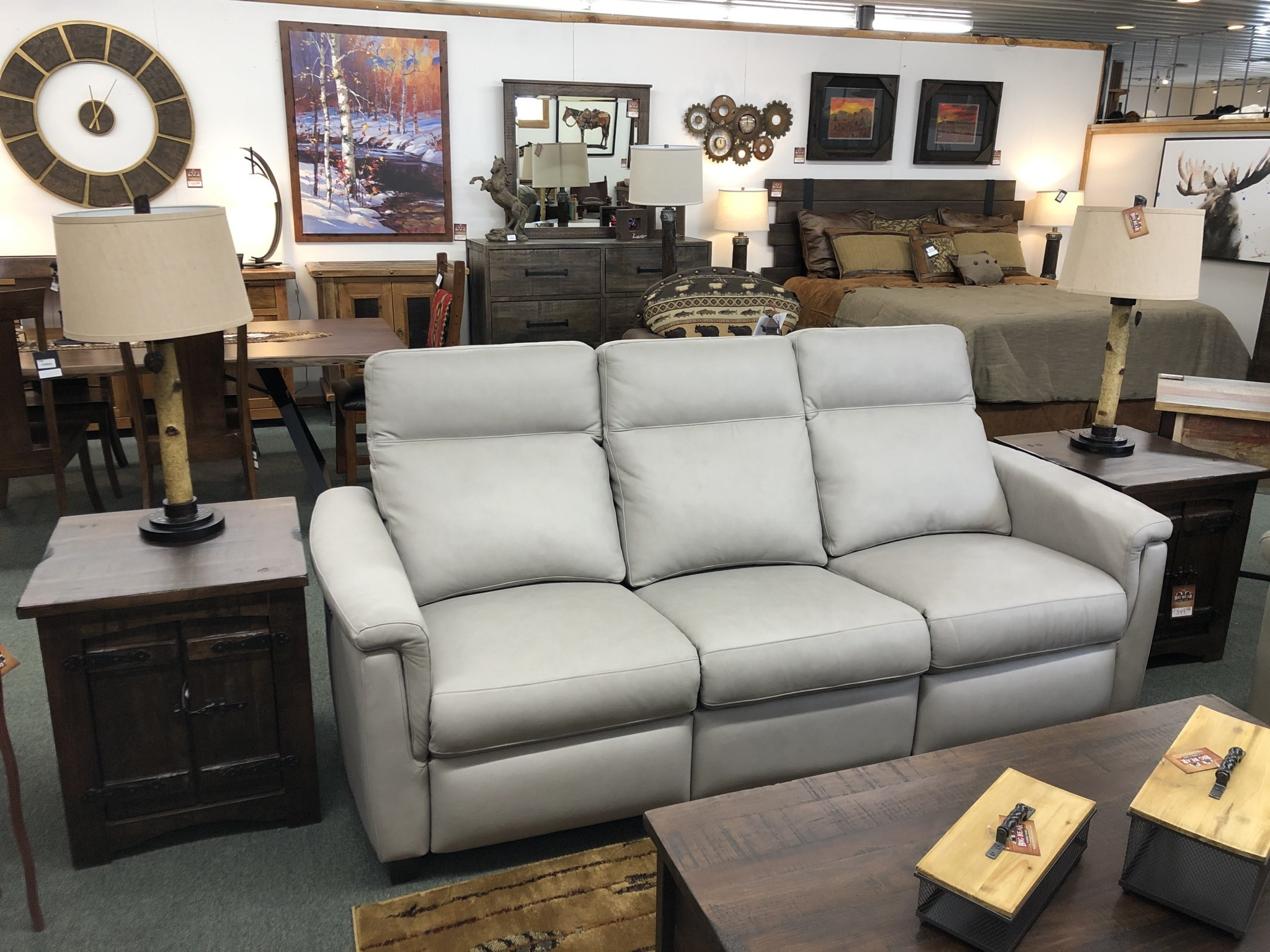 Omnia Power Solutions 509BC Reclining Sofa**