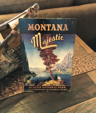 Classic Outdoor Magazines #23 Montana Majestic Table Topper