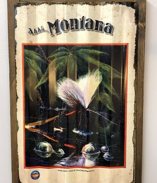 Classic Outdoor Magazines #2  Montana Fly Corrugated 17x24