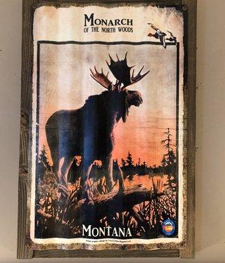 Classic Outdoor Magazines #20  Monarch Moose Corrugated 17x24
