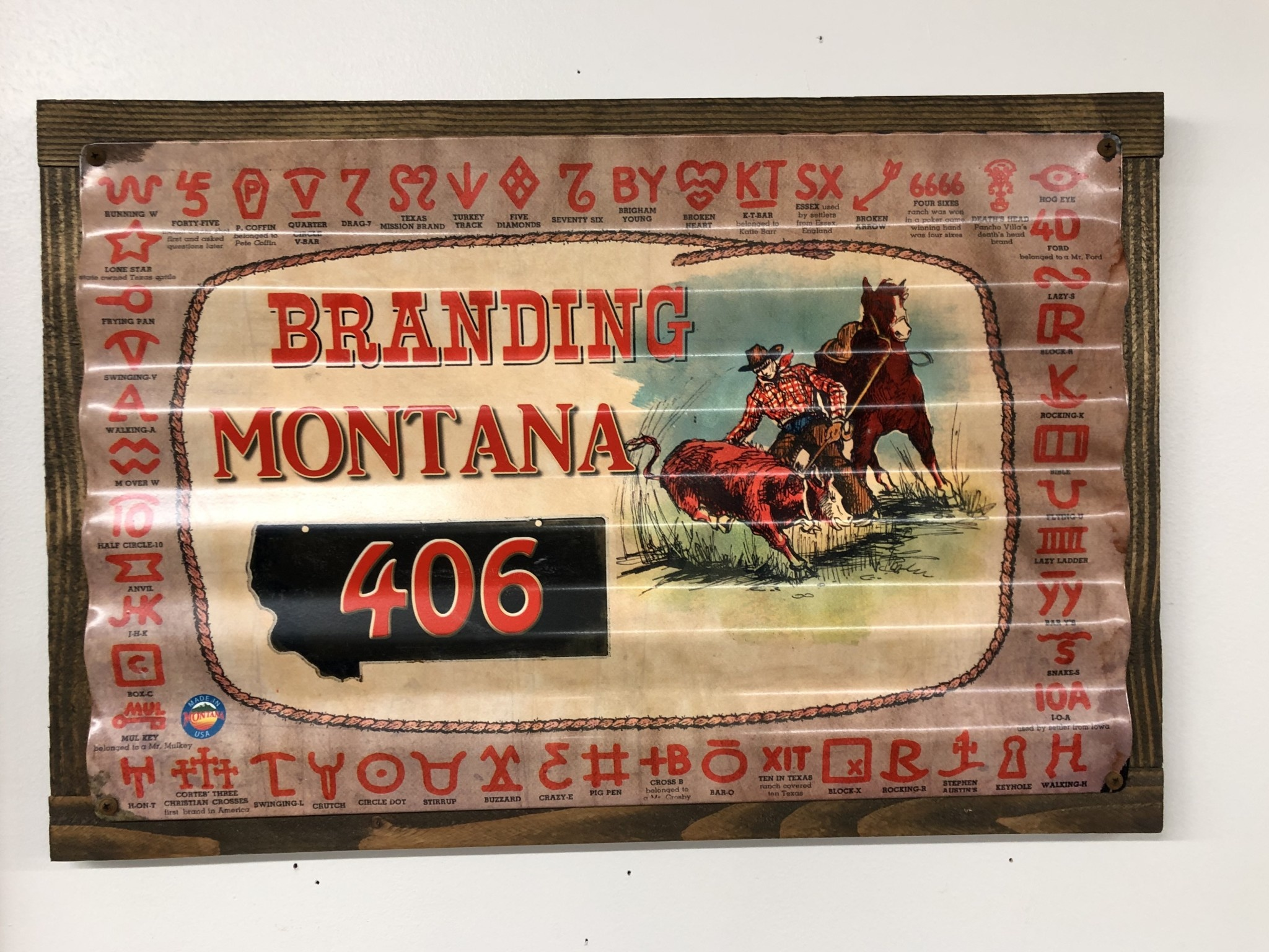 Classic Outdoor Magazines #18  Branding Montana Corrugated 17x24