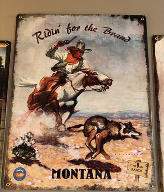 Classic Outdoor Magazines #22 406 Ranch Ridin' the Brand