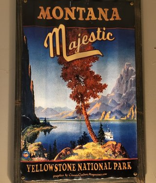 Classic Outdoor Magazines #23  Montana Majestic Corrugated 17x24