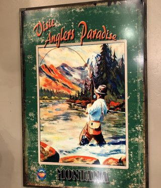 Classic Outdoor Magazines #3  Angler Paradise 24x36