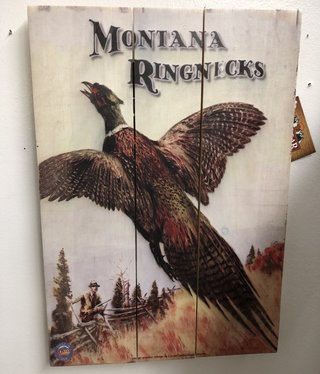 Classic Outdoor Magazines Ringneck Pheasant 14x20 Wood Sign
