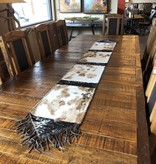 "Gaucho X-Large Cowhide Table Runner 9' x 14"""