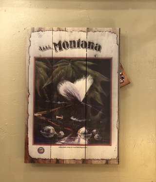 Classic Outdoor Magazines #2  Montana Fly 14x20 Wood Sign