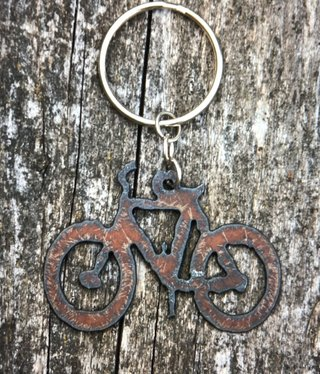 cool water jewelry KC12 Bicycle Charm Key Ring