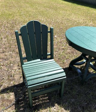 ALBC Poly Side Chair- Green SO