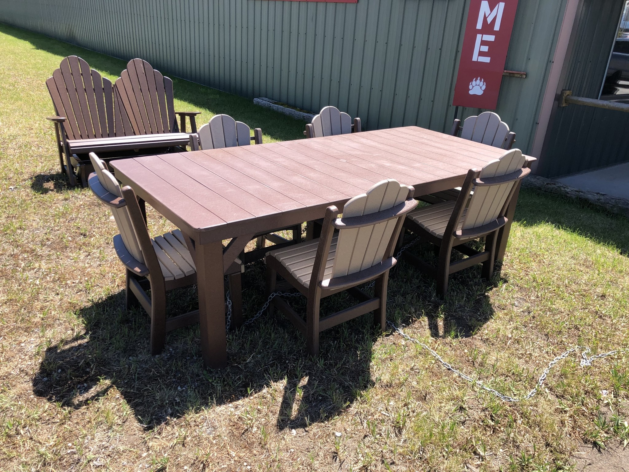 Co-ALBC Poly Outdoor table 96x44x30.5