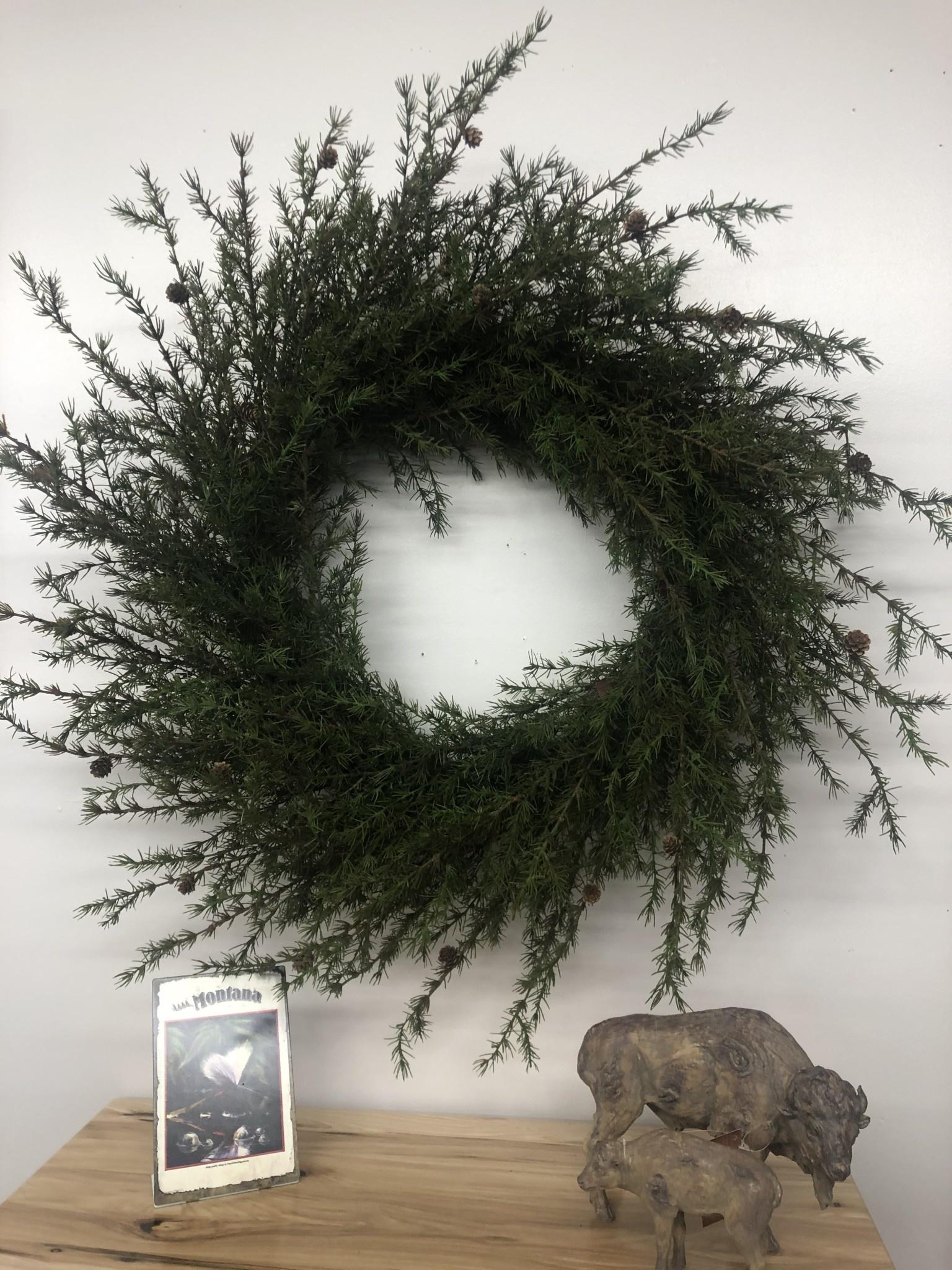 Sullivans Mixed Pine Wreath  42 Dia x 15D (WR868)
