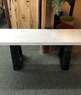 Saxton Art 4 Foot Wood Bench