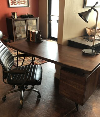 Moes Nailed Desk   64x24x30