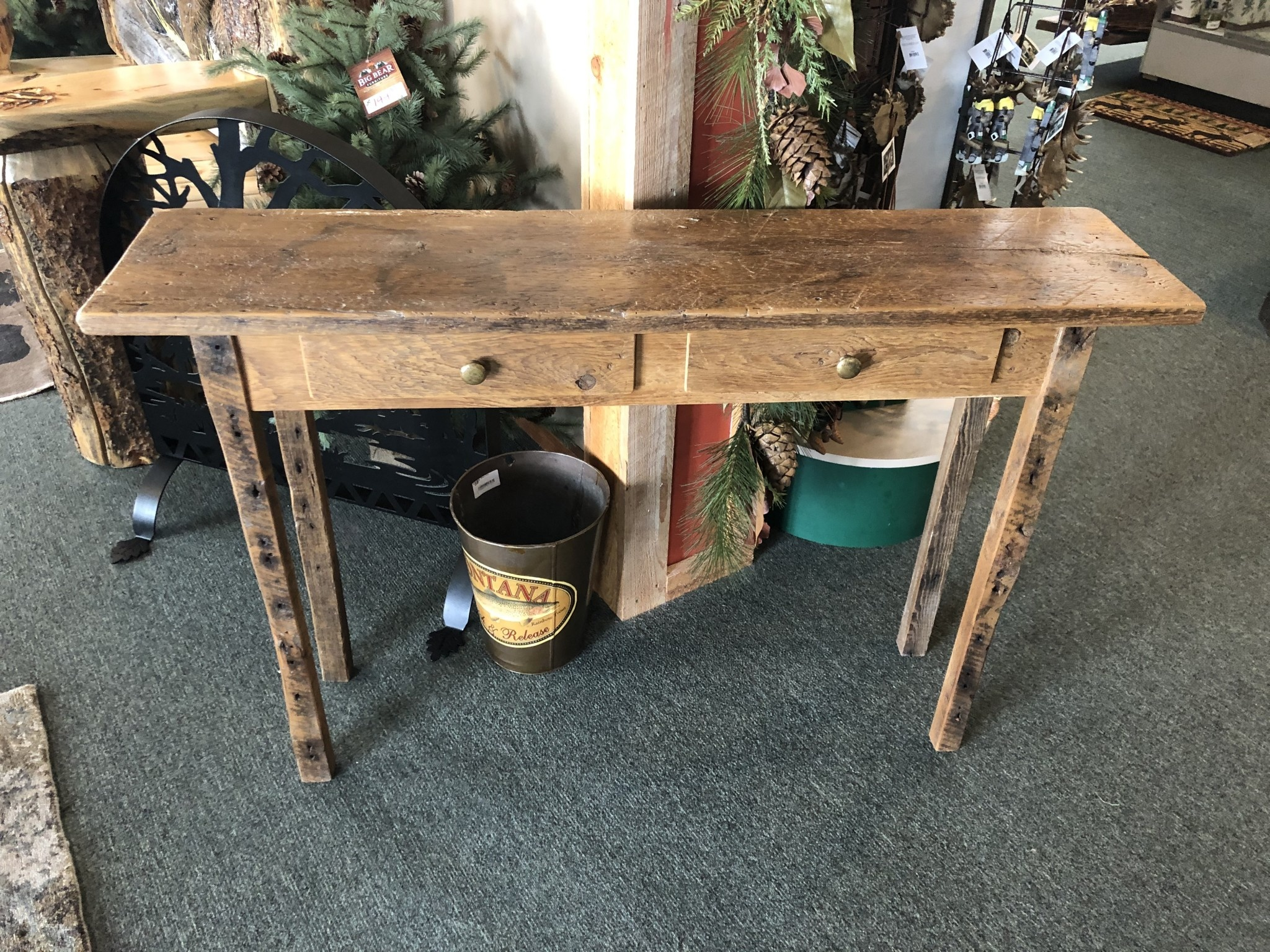 "Green Gables Rock Springs Hall Table  50""x32""x12"""