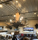 Fish Moose Chandelier