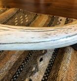 Fish Polished Elk Antler w/Gold Inset