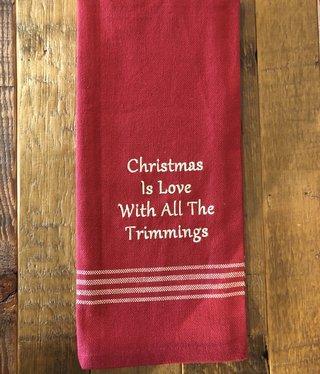 Park Design Christmas is Love Towel