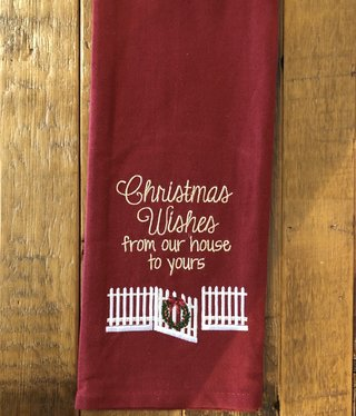 Park Design Christmas Wishes Towel
