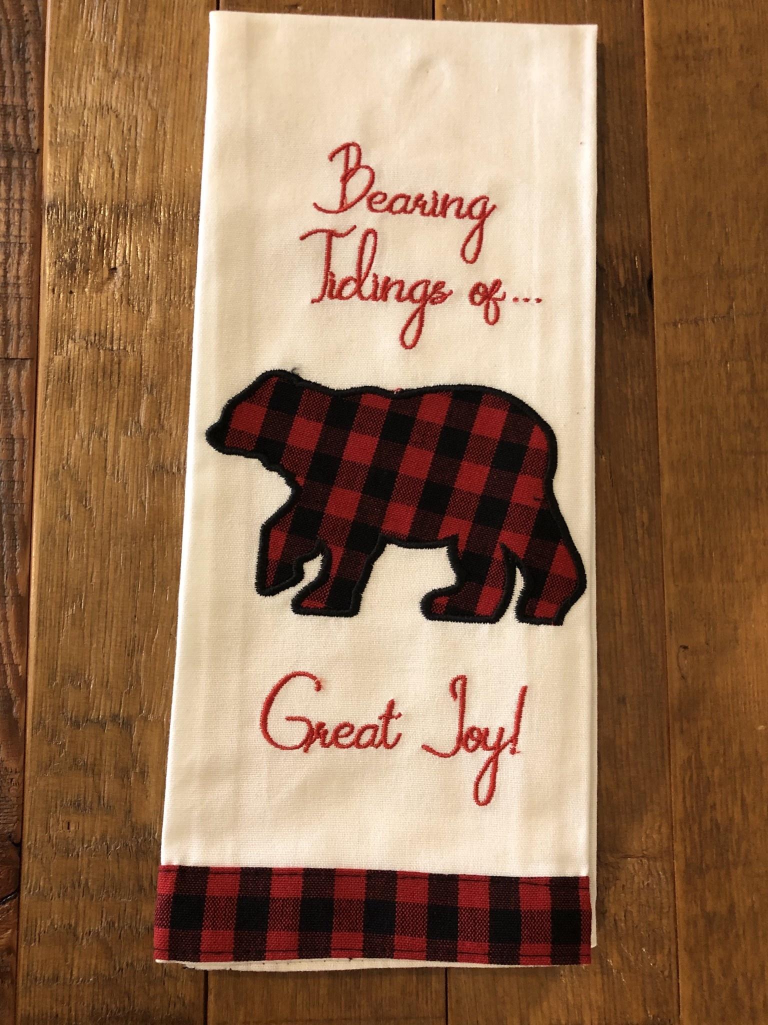 Park Design Tidings of Great Joy Towel
