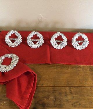 Park Design Wreath Pewter Napkin Ring