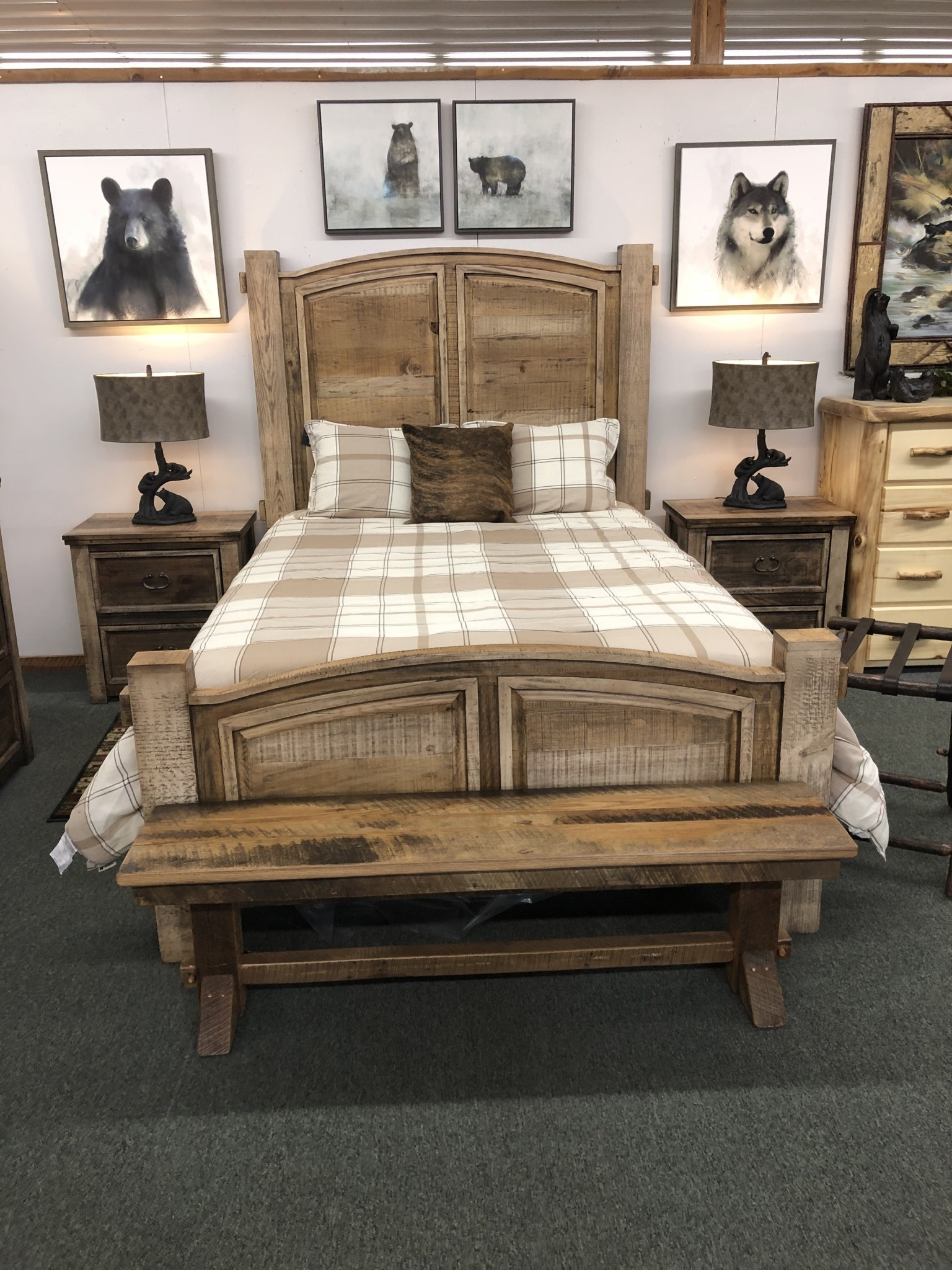 IFD 4351 Marquez QUEEN Bed